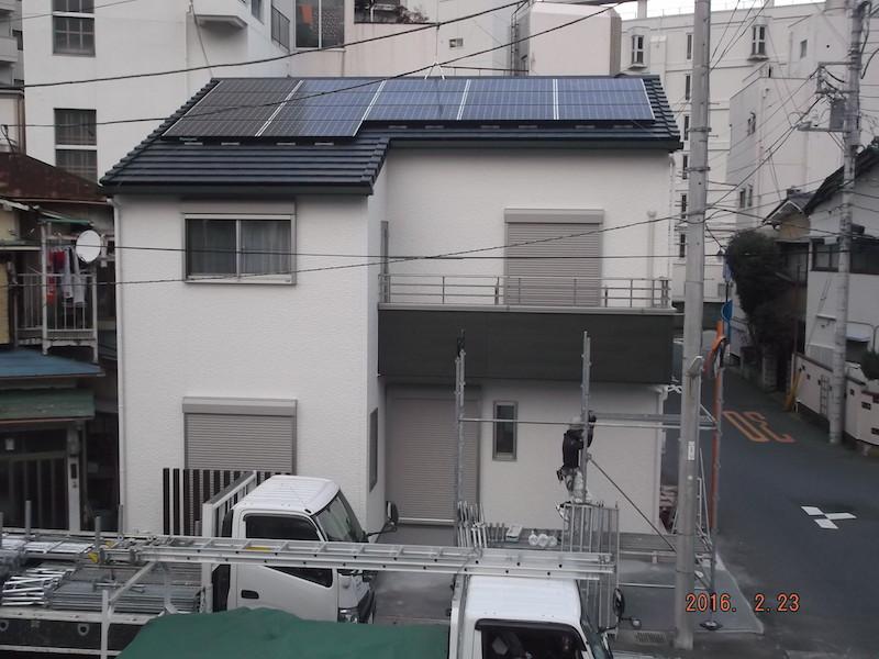 太陽光発電システム設置事例 熱海市