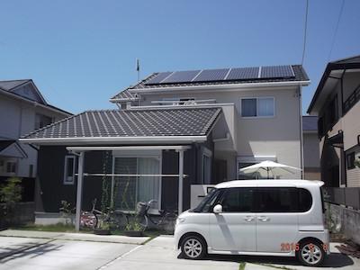 太陽光発電システム設置事例 袋井市N様