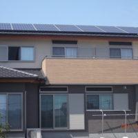 太陽光発電システム設置事例 島田市N様