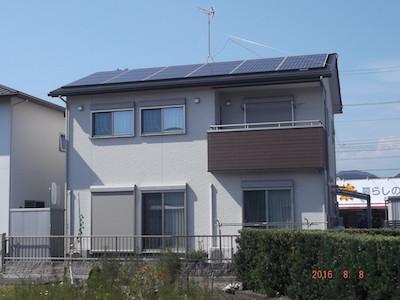 太陽光発電システム設置事例 島田市O様