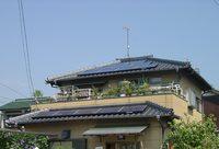 太陽光発電システムを設置した藤枝市 富永様