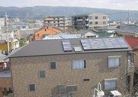 太陽光発電システムを設置した静岡県三島市 F様