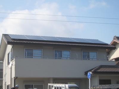 太陽光発電システム設置事例 磐田市