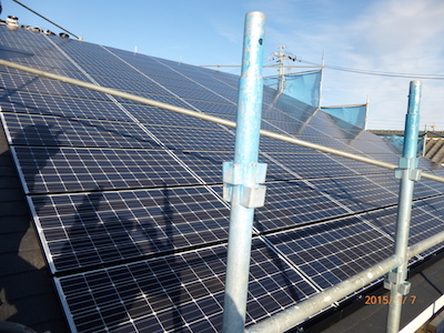 浜松市太陽光発電設置事例