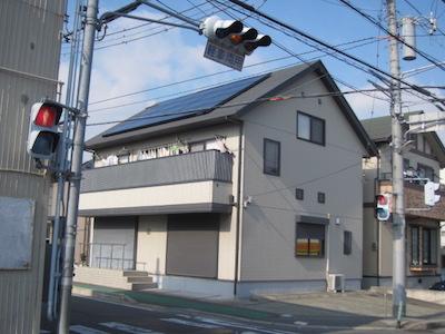 太陽光発電システム設置事例 三島市