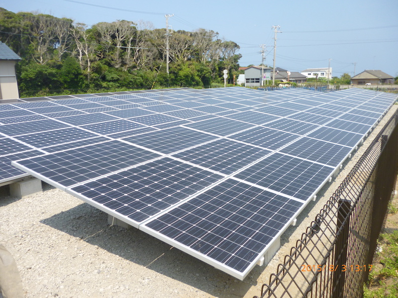 静岡県御前崎市M様 産業用太陽光発電システム設置事例