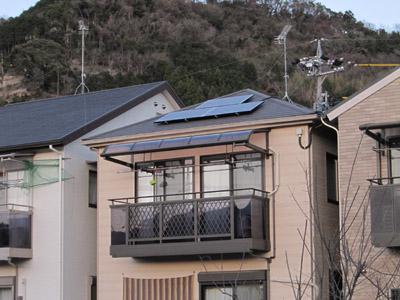 静岡市I様 サンヨー製太陽光発電システム3.69kw静岡市I様 サンヨー製太陽光発電システム3.69kw