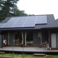伊東市T様 サンヨ-製太陽光発電システム3.9kw