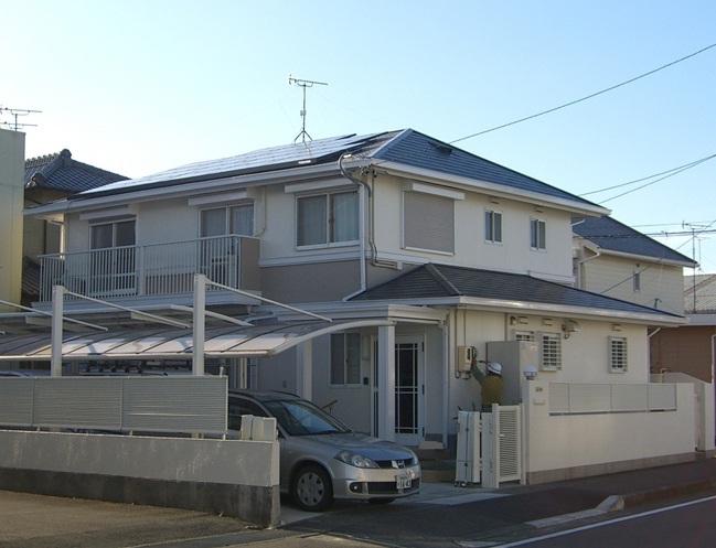 藤枝市K様 東芝製太陽光発電システム4.2kw
