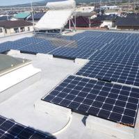 富士市E様 フジプレ製太陽光発電システム5.72kw