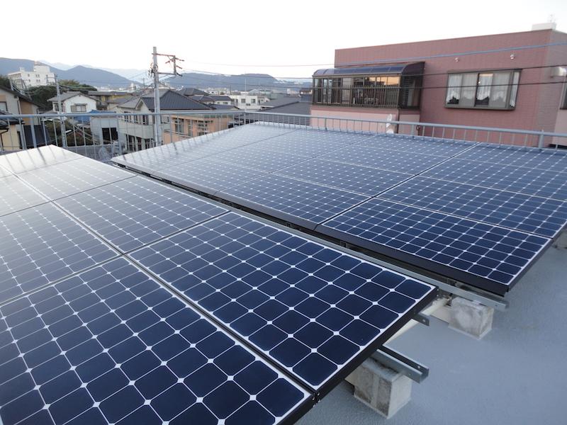 富士市F様 東芝製太陽光発電システム5.76kw