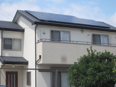 太陽光発電システム設置事例 浜松市K様