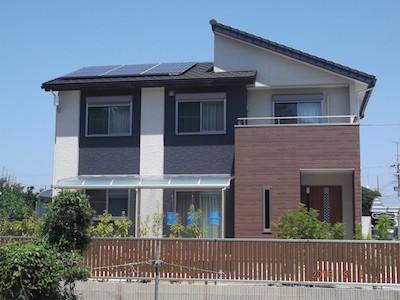 太陽光発電システム設置事例 浜松市NH様