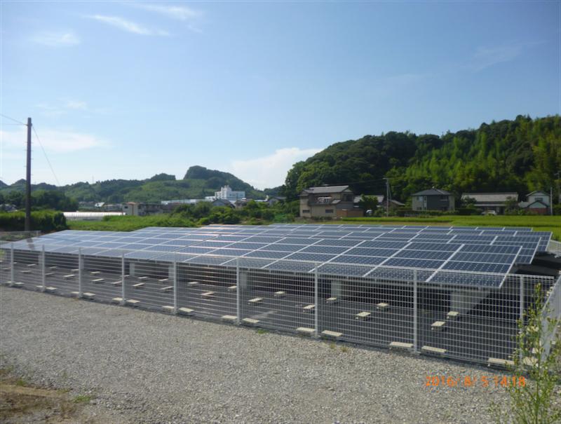 静岡県牧之原市 産業用太陽光発電システム