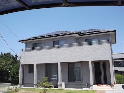 太陽光発電システム設置事例 浜松市NM様