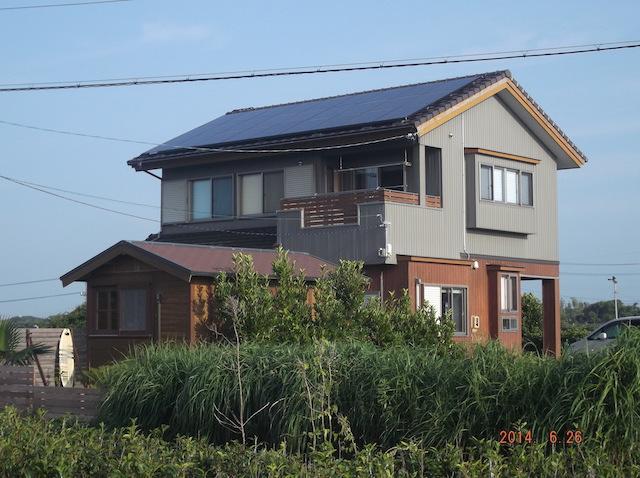 太陽光発電システム設置事例 御前崎市T様