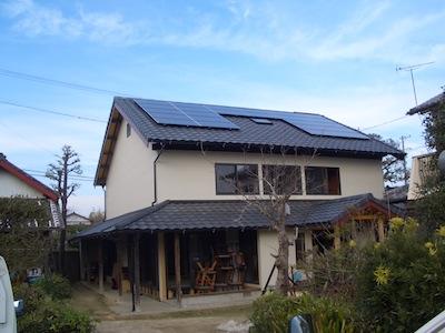 太陽光発電システム設置事例 掛川市