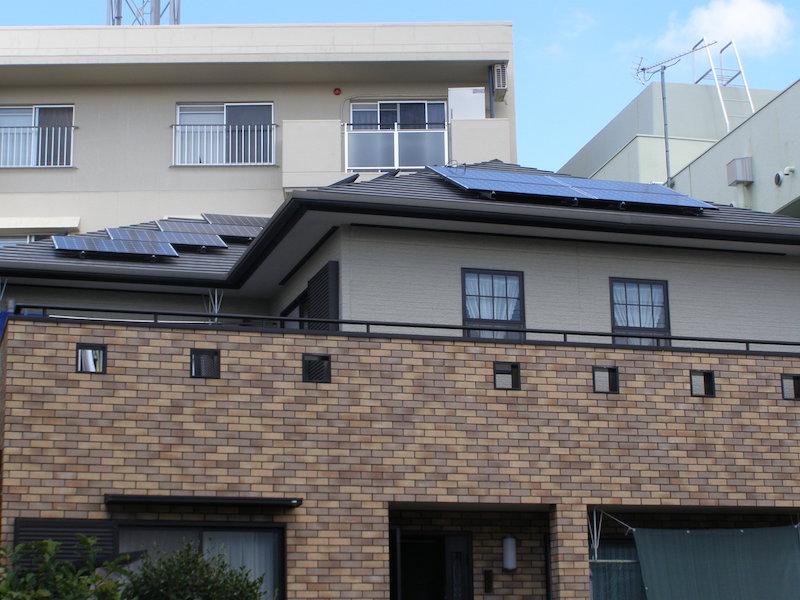 静岡市O様 パナソニック製太陽光発電システム3.75kw