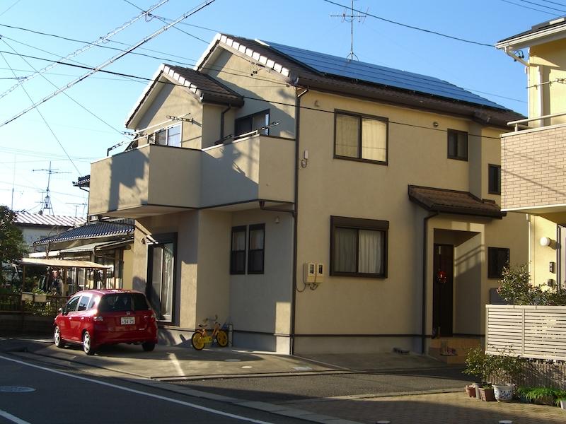 静岡市S様パナソニック製太陽光発電システム7.92kw