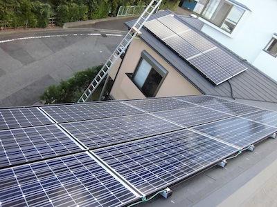 伊東市S様 パナソニック製太陽光発電システム4.19kw