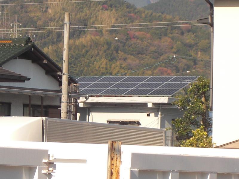 静岡市I様 京セラ製太陽光発電システム4.09kw