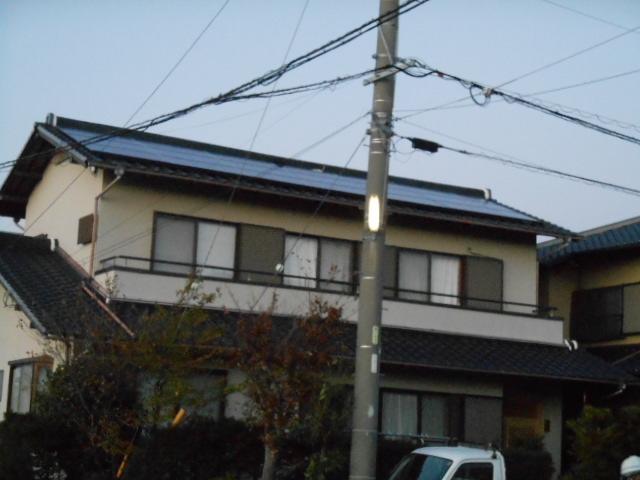 焼津市M様 パナソニック製太陽光発電システム4.68kw