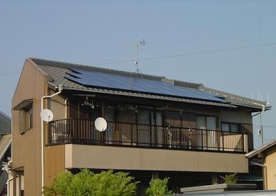 太陽光発電設置事例 静岡県島田市